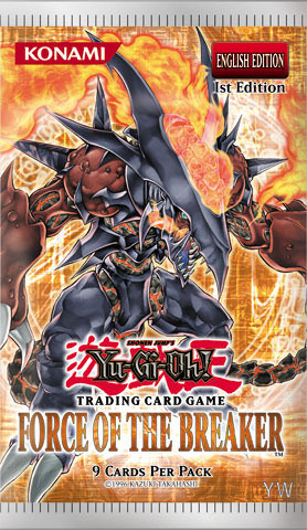 Yu-Gi-Oh Force of the Breaker Booster