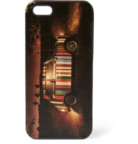 Printed Leather iPhone 5 Cover