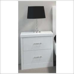 By Designs - Ibiza 2 Drawer Bedside Table - Bedside Tables
