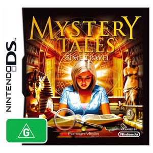 Nintendo DS Mystery Tales - Time Travel?