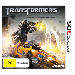 Nintendo 3DS Transformers: Dark Of The Moon - Stealth Force Edition