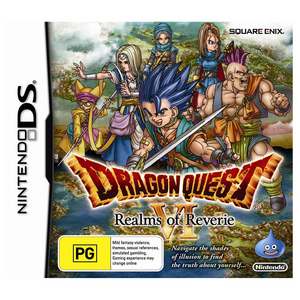 Nintendo DS Dragon Quest VI: Realms of Reverie