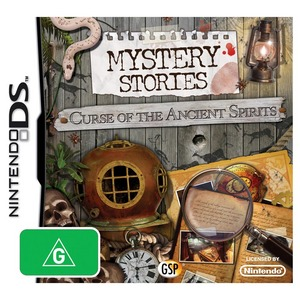 Nintendo DS Mystery Stories 2: Curse of the Ancient Spirits