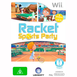 Nintendo Wii Racket Sports Party