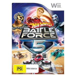 Nintendo Wii Hot Wheels Battle Force 5