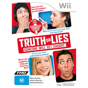 Nintendo Wii Truth or Lies Microphone Pack
