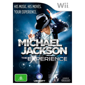 Nintendo Wii Michael Jackson: The Experience
