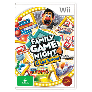 Wii Hasbro Family Game Night 4 - The Game Show
