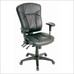Healthezone - QDOS Managers Chair in Black - Office Chairs