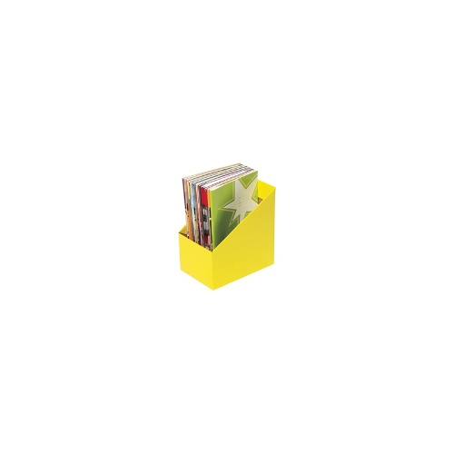 Marbig Book Box Large 5 Pack Yellow