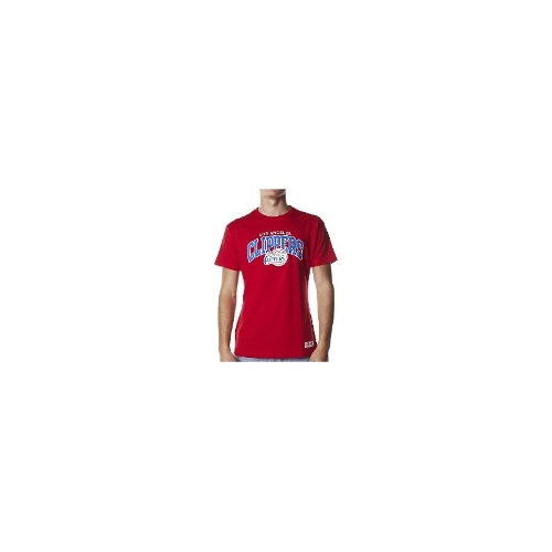 Mitchell & Ness Mens Tees - Mitchell & Ness College Arch La Clippers Tee Size XXL