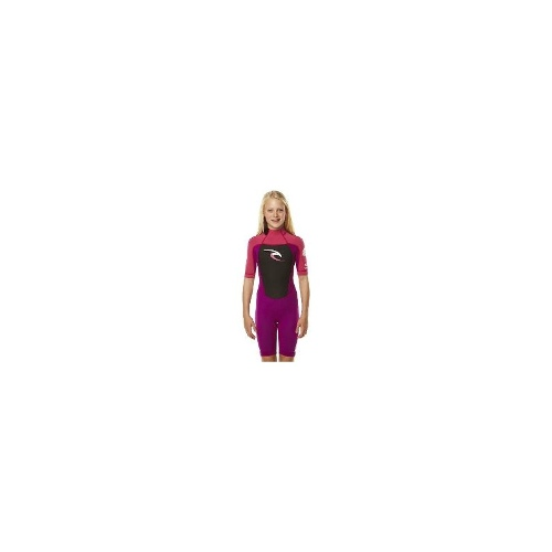 Rip Curl Kids Wetsuits - Rip Curl Kids Dawn Patrol Ss Spring Suit Wetsuit Size 6