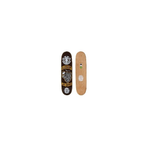 Element Skate Decks - Element Levi Brown Timber 8-1 Deck Size One Size