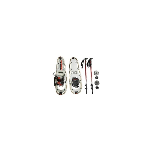 "Yukon Charlies Pro Guide V Snowshoes Kit - 25"" Snowshoes, Poles, Bag - SEE PHOTO ( )"