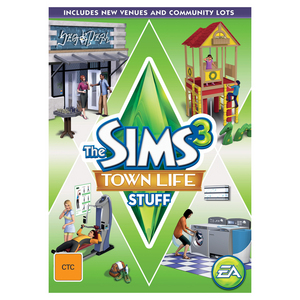 PC Sims 3: Town Life Stuff Pack