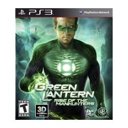 Green Lantern Rise Of The Manhunters (PS3)