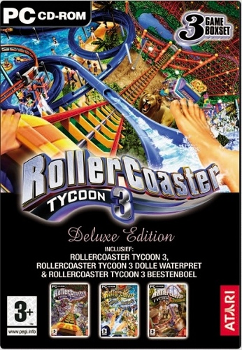 Rollercoaster Tycoon 3 Deluxe Edition (PC) GAME