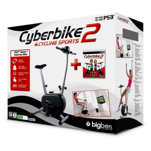 PS3 Cyberbike 2 - Cycling Sports Fitness Bundle