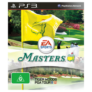 PS3 Tiger Woods 12 Masters