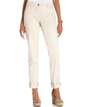 Charter Club Pants, Cargo Cropped