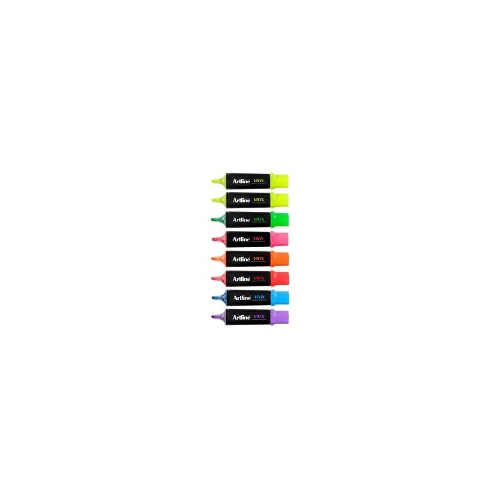 Artline Vivix Highlighters Assorted Pack/8