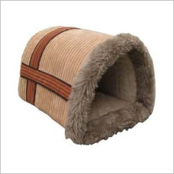 Bono Fido - Courage Cord Cuddle-up Igloo Bedding - Pet Beds