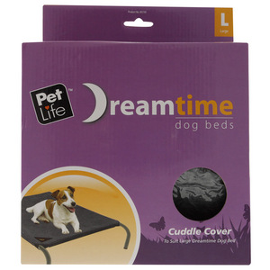 Pet Life Dream Time - Dog Bed - Large Cuddle Cover