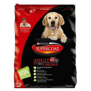 Supercoat Adult Chicken 12Kg