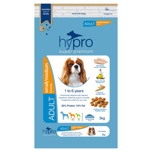 Hypro Super Premium 3kg Small/Medium Breed