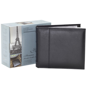 Two Premium Bonded Leather Photo Albums