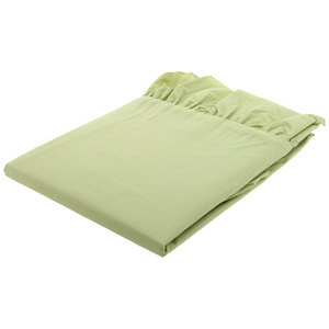 House x Home Ruffled Curve Pillow Case - Green