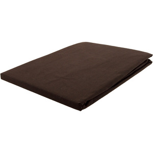 House x Home 250 Thread Count Tailored European Pillow Case - Chocolate