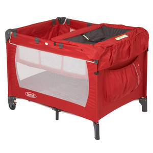 Steelcraft Weekender 3-in-1 Portacot - Red