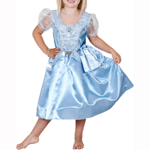 Cinderella Party Princess Costume 6-8yrs
