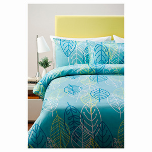 Queen Quilt Cover Set - Leaf