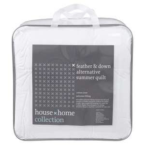 House x Home Feather & Down Alternative Quilt QB
