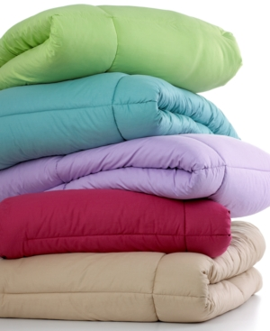 Charter Club Bedding, Twin Colored Comforter Bedding