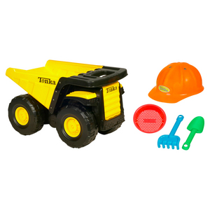 Tonka Mighty Dump With Bonus Tools