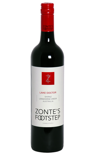 Zonte's Footstep Lake Doctor 2008 Shiraz Viognier Langhorne Creek Australia 750ml - Label