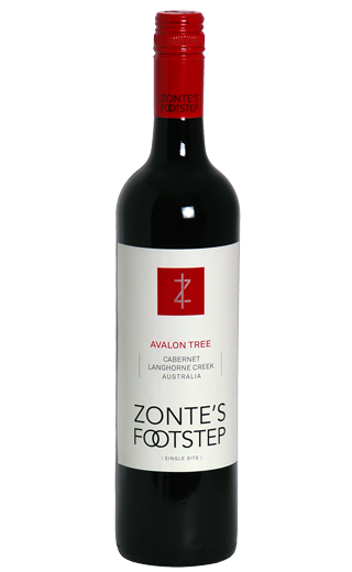 Zonte's Footstep Avalon Tree 2009 Cabernet Sauvignon South Australia 750ml - Label