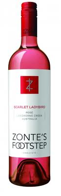 Zonte's Footstep Scarlet Ladybird Rose 6 X 750ml - Label