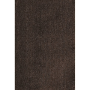 House x Home Soft Plain Rug 60 x 90cm - Brown