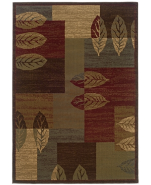 "MANUFACTURER'S CLOSEOUT! Sphinx Area Rug, Tribecca 60T Brown 3'2"" x 5'5"""