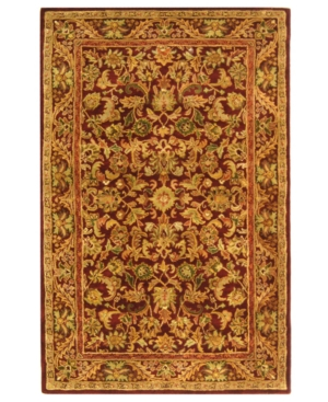 MANUFACTURER'S CLOSEOUT! Safavieh Area Rug, Antiquity AT52B Wine 6' Square