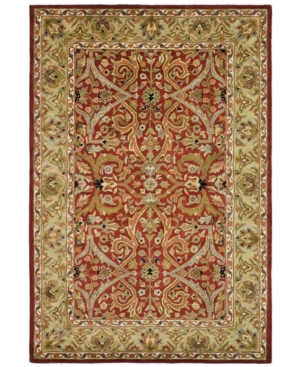 "MANUFACTURER'S CLOSEOUT! Safavieh Area Rug, Heritage HG644B Red 8' 3"" x 11'"