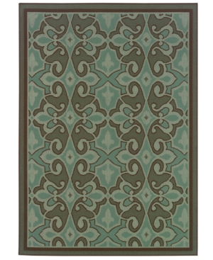 "MANUFACTURER'S CLOSEOUT! Sphinx Area Rug, Indoor/Outdoor Hampton 2335L 7'10"" x 10'10"