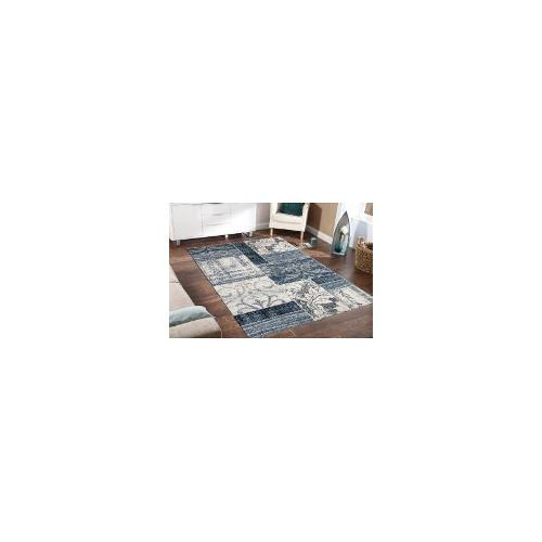 Bella Blue - Cream Rug 170 x 120cm