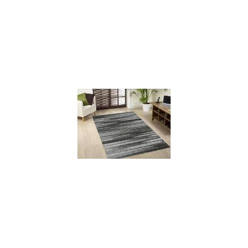 Bella Grey - White Rug 170 x 120cm