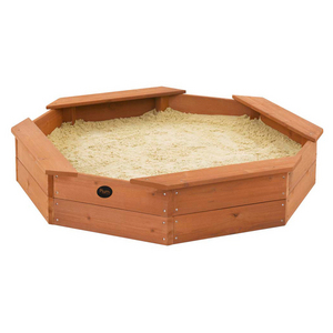Plum Octagonal Outdoor Play Wooden Sand Pit