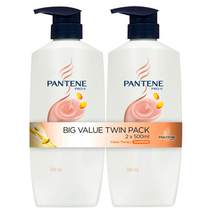 Pantene Colour Therapy Shampoo 2 x 500ml